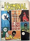 Kriminal n.134 * La Camera D'Ambra * ed. Corno