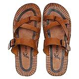#1: Kraasa 5157 Casual Men's Flip-Flops & House Slippers