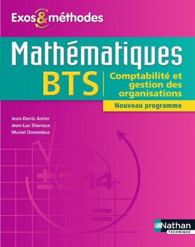 Mathématiques BTS CGO par Jean-Denis Astier