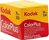 , 10 unidades Kodak ColorPlus 200 35 mm 36 de la exposición con barato película fotográfica en color