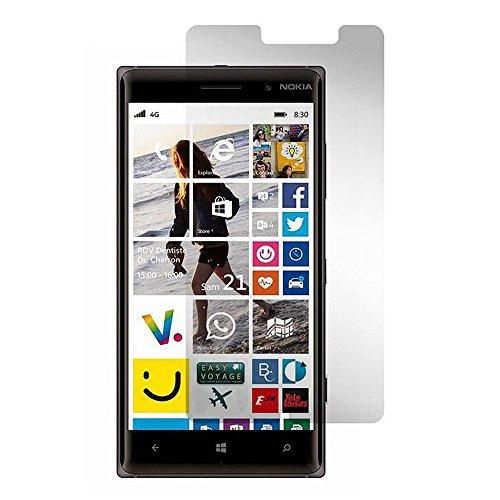 Preisvergleich Produktbild GiXa Technology 9H Hartglas Display Schutz Panzerglas Schutzglas Hart Schutz Folie für Nokia Handy / Smartphone (Lumia 730 / 735,  Klar)