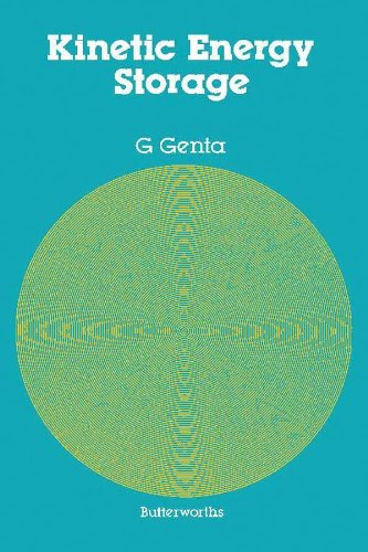Kinetic Energy Storage Theory And Practice Of Advanced Flywheel Systems By Genta G