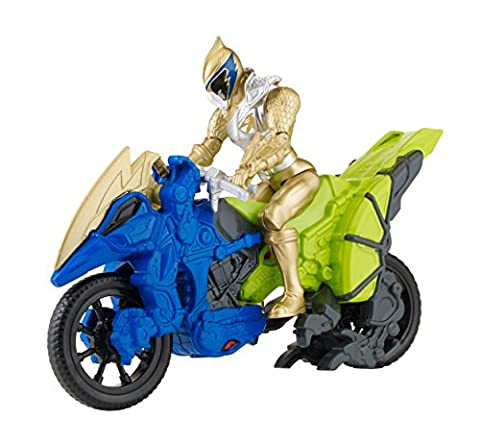 "Power Rangers Dino Charge - Dino Cycle with 5"" Gold Ranger Action Figure"