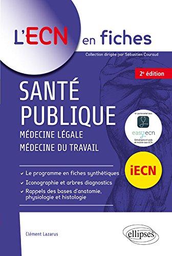 Santé Publique Médecine Légale Médecine Du Travail Iecn por Clément Lazarus