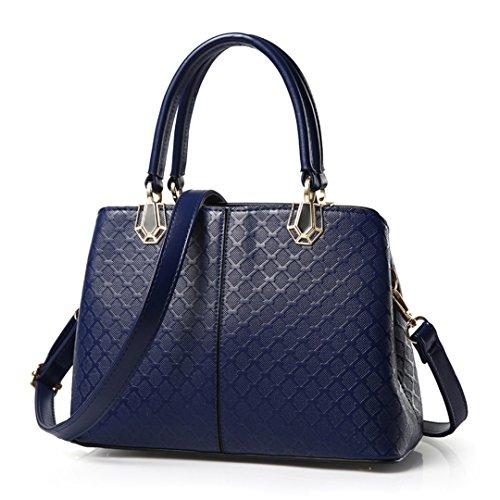 wewod-damen-glatte-textur-toth-handtaschen-einfarbige-gitter-pragung-diagonalen-umhangetasche-tragba