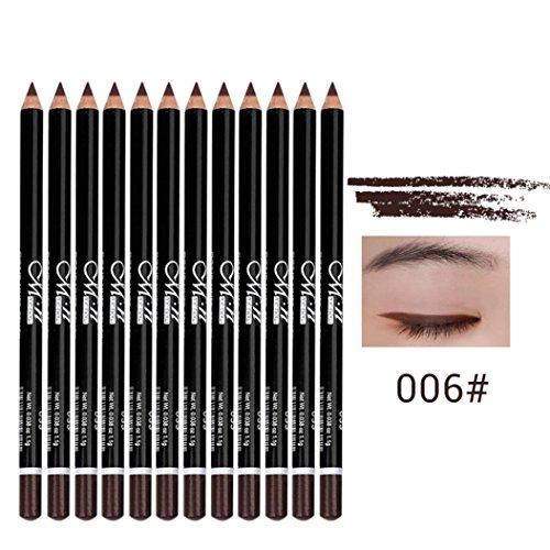 Eyeliner-Liquid Pen Maquillage Cosmétique Waterproof Menow 12 Couleurs Longue Durée Ombre à Paupières Stylo Beauté (06#)