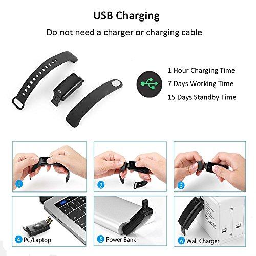 Montre Connectée ip68, HDTOSNER Bracelet Connecté..