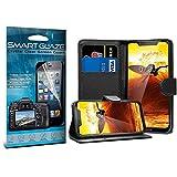 i-Tronixs Wallet case (Black) Cover for LG K5 3G X220PU