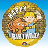 Balloons/Foil/Character Balloons/Shapes/1834101 - NEW! Bob The Builder Birthday