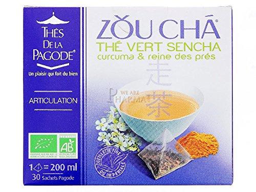 ZOU CHA Thé Vert Sencha 30 sachets