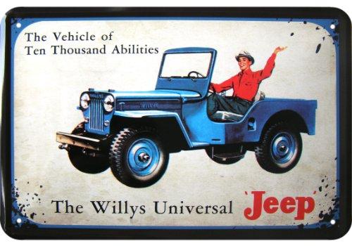 willys-universel-jeep-replique-publicitaire-metallique