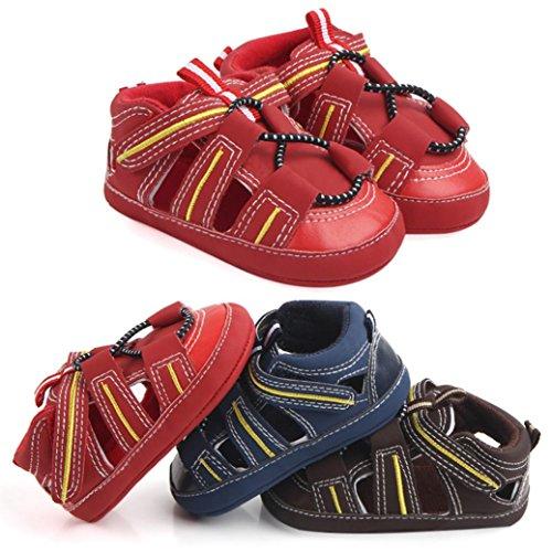 BZLine® Kleinkind Sommer Schuhe geschlossen Zehe kleinkind mädchen Sandalen Rot