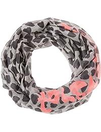CODELLO COLOURFLASH LOOP-SCHAL mit Herz-Muster FOREVER YOURS rosa rot grau schwarz 72104899