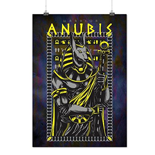 Anubis Alt Gott Mode Mattes/Glänzende Plakat A3 (42cm x 30cm) | (Weibliche Anubis Kostüm)