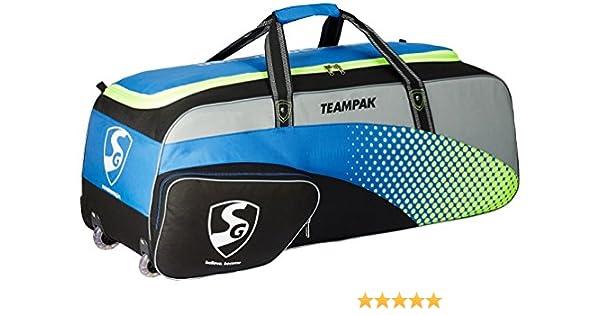aa231eed06a0 SG Teampak Kit Bag, 40 x 13.5 x 13.5 (Blue)