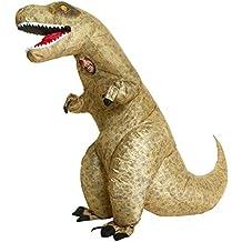 T-Rex, dinosaurio del jurásico inflable unisex Disfraz