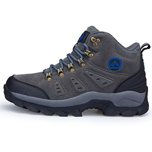 Mens Extérieur Alpinisme Chaussures De Randonnée Anti-dérapant Portable Chaussures De Voyage Occasionnels Haut Haut De La Protection De La Marche Camping Sneaker