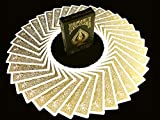 BICYCLE METALLUXE GOLD Limited Edition Cards By JOKARTE COLLECTORS Spielkarten Golden Luxe