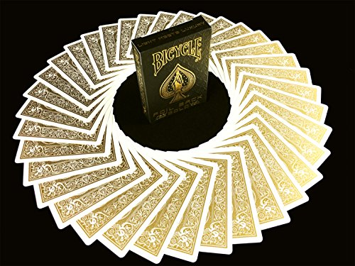 Cartas BICYCLE Edición Gold Metalluxe - Edición limitada