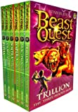 Beast Quest Pack: Series 2, 6 books, RRP 29.94 (Arachnid the King of Spiders, Claw the Giant Monkey, Soltra the Stone Charmer, Trillion the Three-Headed Lion, Vipero the Snake Man, Zepha the Monster Squid). (Beast Quest)