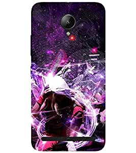 EagleHawk 3D Designer Printed Back Cover for Lenovo Vibe C2 - D694 :: Perfect Fit Designer Case