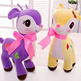 #7: Richy Toys Deer 1Pc Animal Teddy Bear Soft Toy kids birthday Gift Stuffed Soft Plush Toy Love 25 cm (Assorted Color)