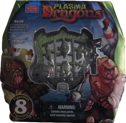 Plasma Dragons MEGABLOKS 9450