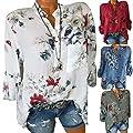 Lässige V-Neck-Frauen Modedame Print Shirt (Opp Tasche) von Beatie - Outdoor Shop