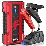 Oasser Booster Batterie Démarreur de Voiture Portable Démarreur Mobile 15 000mAh...