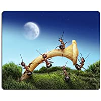 Msd Natural rubber Gaming Mousepad Image ID: 9289817squadra di formiche lanci Spaceman to the moon Teamwork fantasy