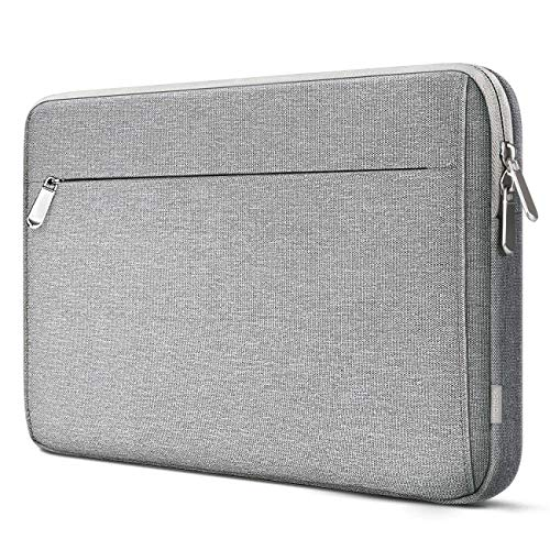 Inateck 360° Rundum Schutz Tasche Hülle Kompatibel Surface Pro X/7/6/5/4/3, 2018/2019 MacBook Air, 12,3-13 Zoll Stoßfeste Laptop Sleeve Case Kompatibel 13 Zoll MacBook Pro 2019/2018/2017/2016