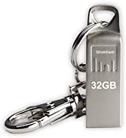 Strontium Ammo 32GB 2.0 USB Pen Drive (Silver)