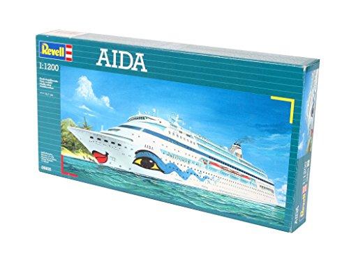 Imagen 6 de Revell 05805 - Maqueta de buque Aida (escala 1:1200)