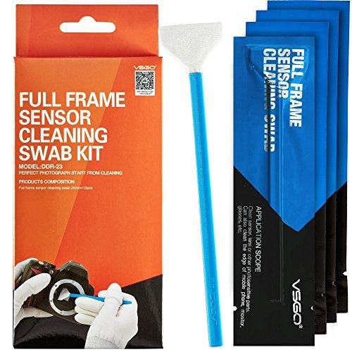VSGO DDR-23 Professional Full Frame DSLR-Sensor Reinigungstupfer Kit Sensor Swabs für Digitalkamera Reinigung Vollformat Spiegelreflexkamera
