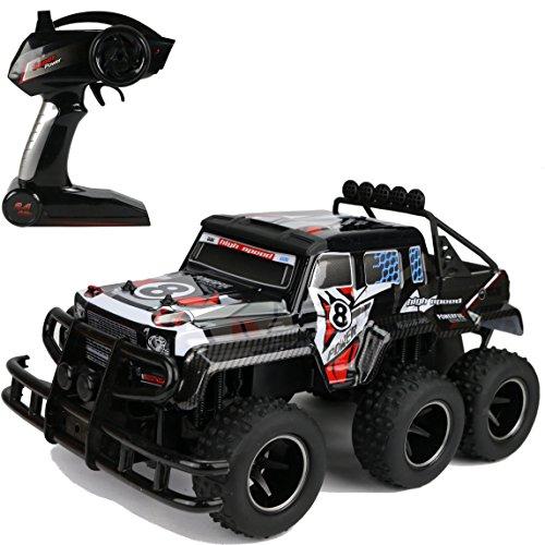 SPL XXL 3 Achsen Monster Truck Funk ferngesteuert RC Auto 2,4GHz 3-Achser schwarz Spl Auto