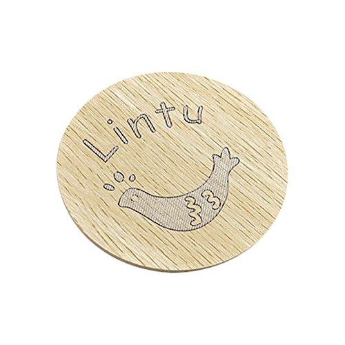 Cosanter Cute Cartoon Untersetzer Aus Holz Frische Dicke Anti Verbrhung Anti Rutsch Matte Tischplatten Schutz