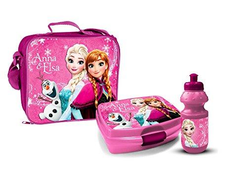 Star Licensing Lunchbox-Set, aus PVC-Kunststoff, bunt, 3-teiliges Set