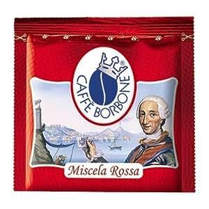 300 CIALDE FILTRO CARTA 44 MM ESE CAFFE BORBONE MISCELA ROSSA