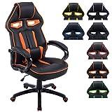 CLP Silla DIESEL con tapizado de cuero sintético. Esta silla de oficina gaming tiene mecanis...