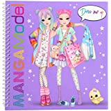 Depesche 6585 Livre de coloriage Dress me up Motif Manga