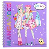 Depesche 6585 Dress Me Up Libro para Colorear con Modelos Manga
