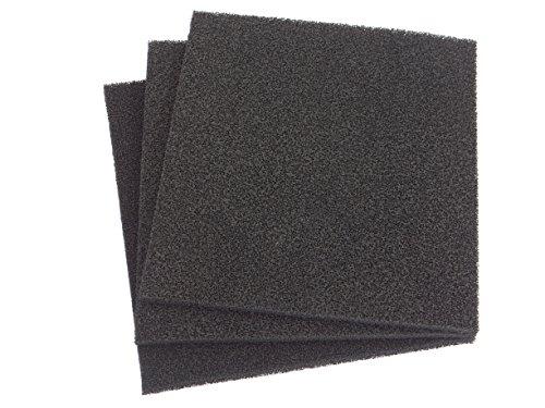 Aktivkohle 2 x 1 m x Dicke ca. 5mm PPI 30 Aktiv-Kohlefilter Universal Aktivkohle Schaumstoff Filter - geeignet für verschiedene Luftanwendungen zuschneidbar Abluft mittel-fein Filtermatte Filterschaumstoff Universal Fettgeruch Kohlefilter Aktivkohle Küche Bad Belüftung Geruchsfilter Büro Lüftung -