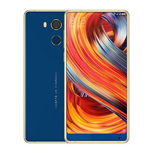 andy BLUBOO D5Pro (32 GB, 3 GB RAM) Global 4G LTE GSM Android Dual-SIM entsperrt, Metallrahmen, MTK6737 Quad-Core 1.3GHz (Blau) (Verizon-handys Blau)