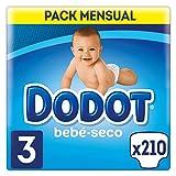 Dodot Pañales Talla 3 (5 - 10 Kg) - Paquete de 3 x 70 Pañales - Total: 210 Pañales