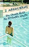 Ein langer Brief an September Nowak - Markus Berges