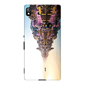 DailyObjects Floating on Glass Case For Sony Xperia Z3 Plus