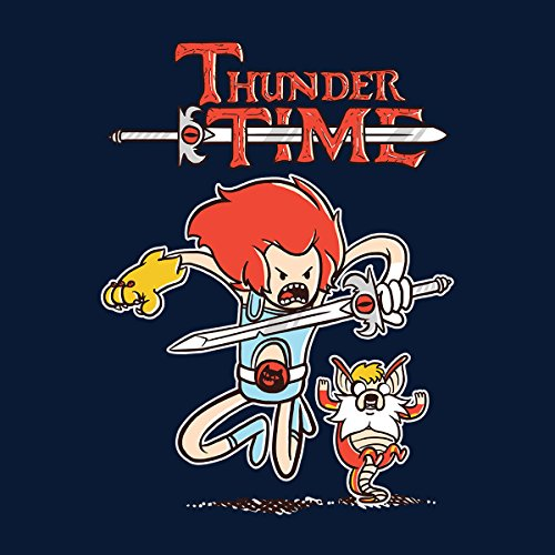The Legend Of Zelda Thunder Time Women's Hooded Sweatshirt Navy blue