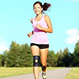 [Kniebandage] FREETOO Knieschoner atmungsaktiver Knieschützer verstellbare Knieorthese mit Gelenkschienen für Damen und Herren - 7