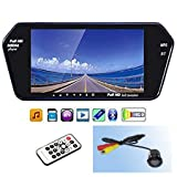 Best GENERIC 1080p Video Cameras - AutoDzire Full HD LED Reverse Parking Screen Review
