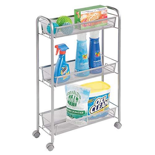 MDesign Estantería ruedas lavadero - Compacto mueble